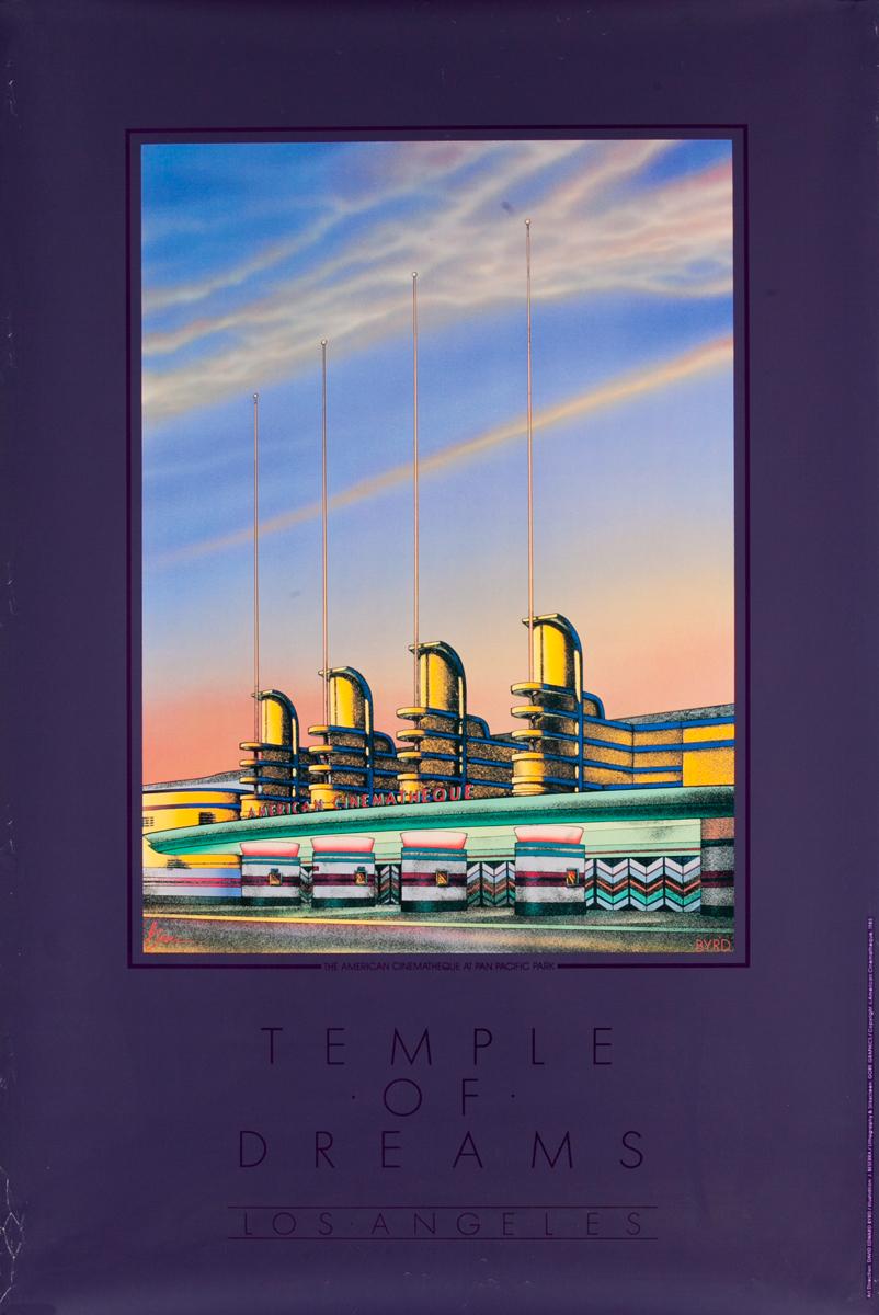 Temple of Dreams Los Angeles, Original Movie Treater Poster