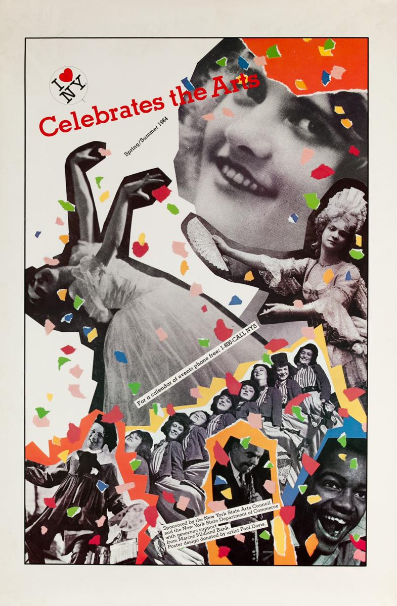 I Love NY Celebrates the Art, Original Poster