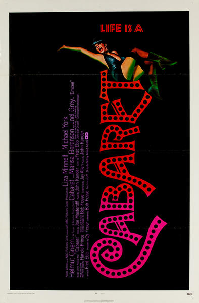 Cabaret Original 1 Sheet Movie Poster