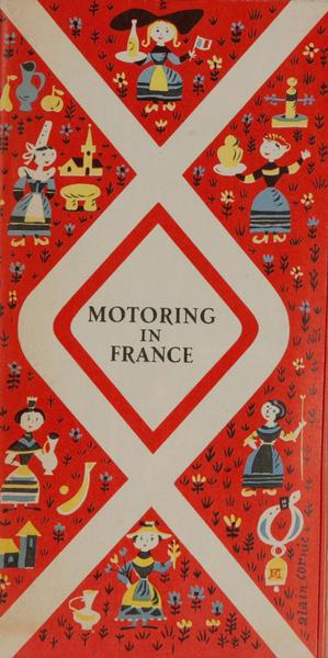 Motoring in France, Original Travel Brochure