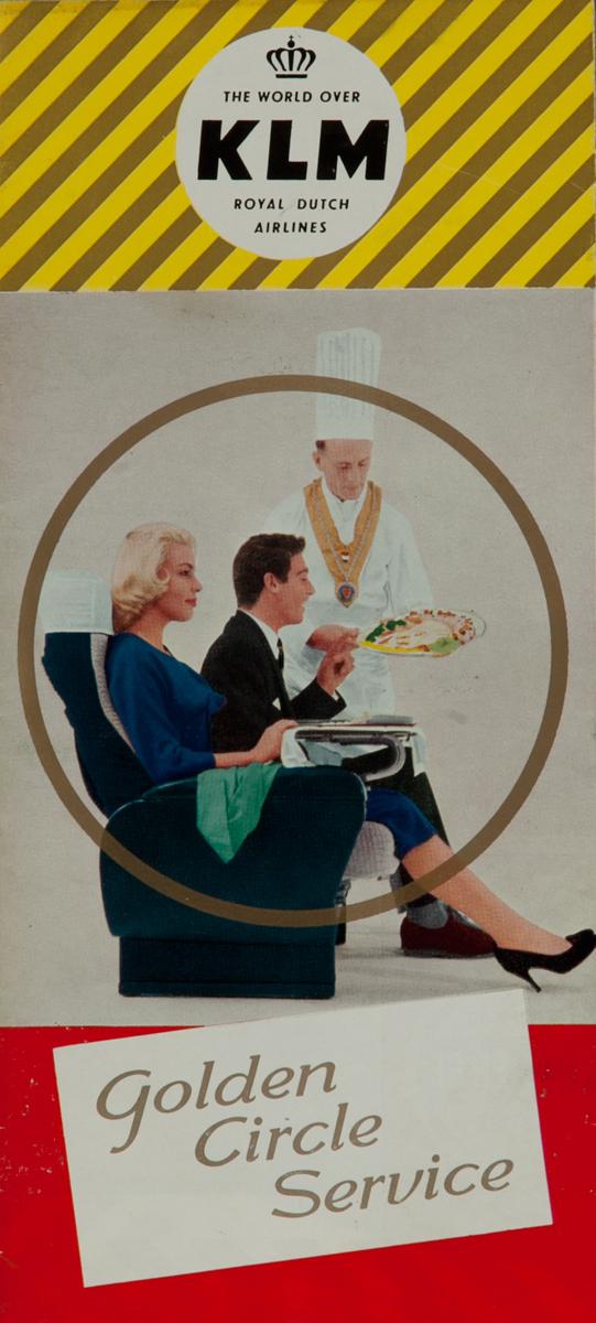 KLM Golden Circle Service, Original Travel Brochure