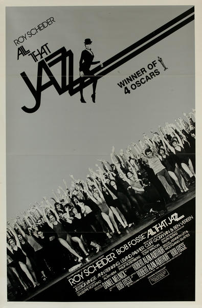 All That Jazz, 20th Century Fox, Original One Sheet Academy Awards Style Movie Poster