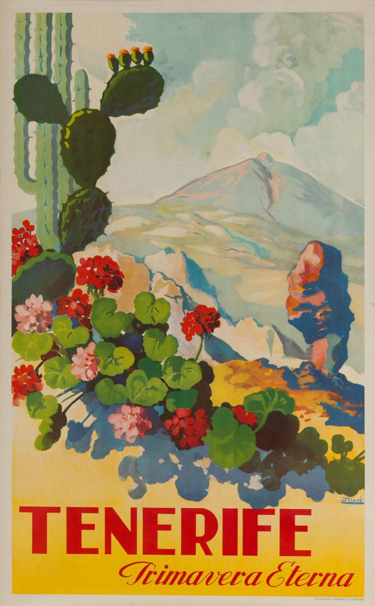 Tenerife Primavera Etera, Original Spanish Travel Island