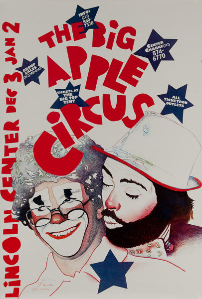 Big Apple Circus, Lincoln Center Original Poster