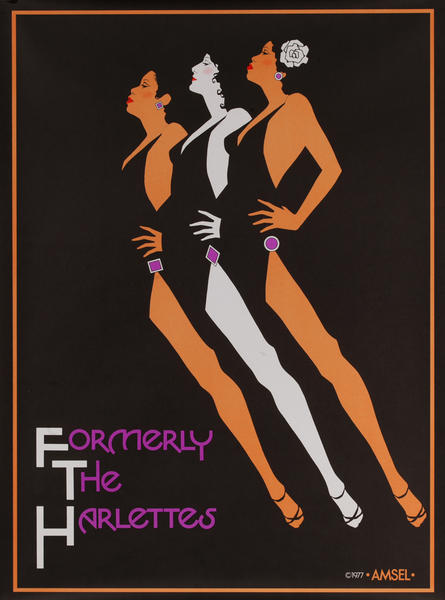 Formerly The Harlettes, Original American Album Poster