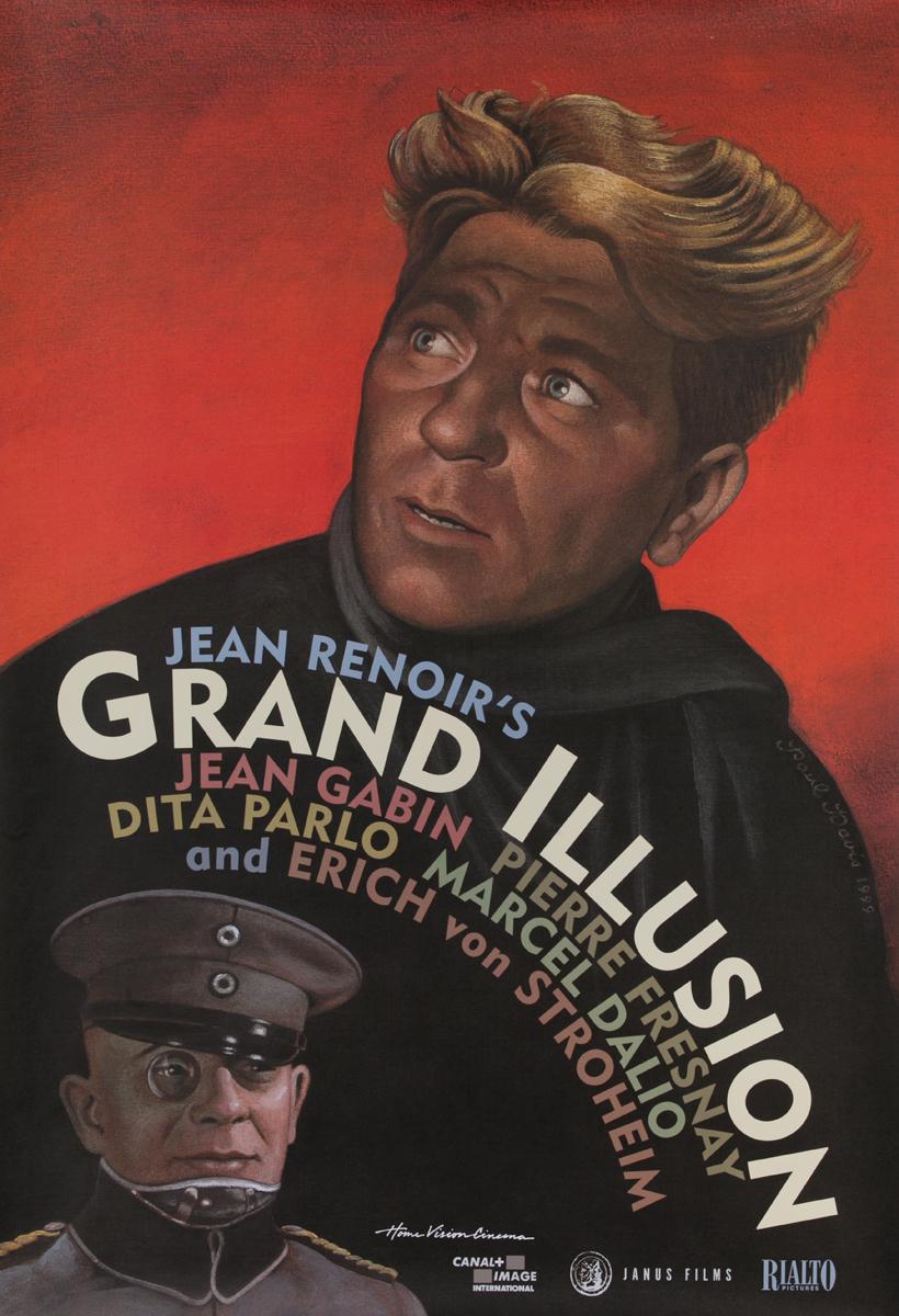 Grand Illusion (1999 video re-release) Original Movie Poster
