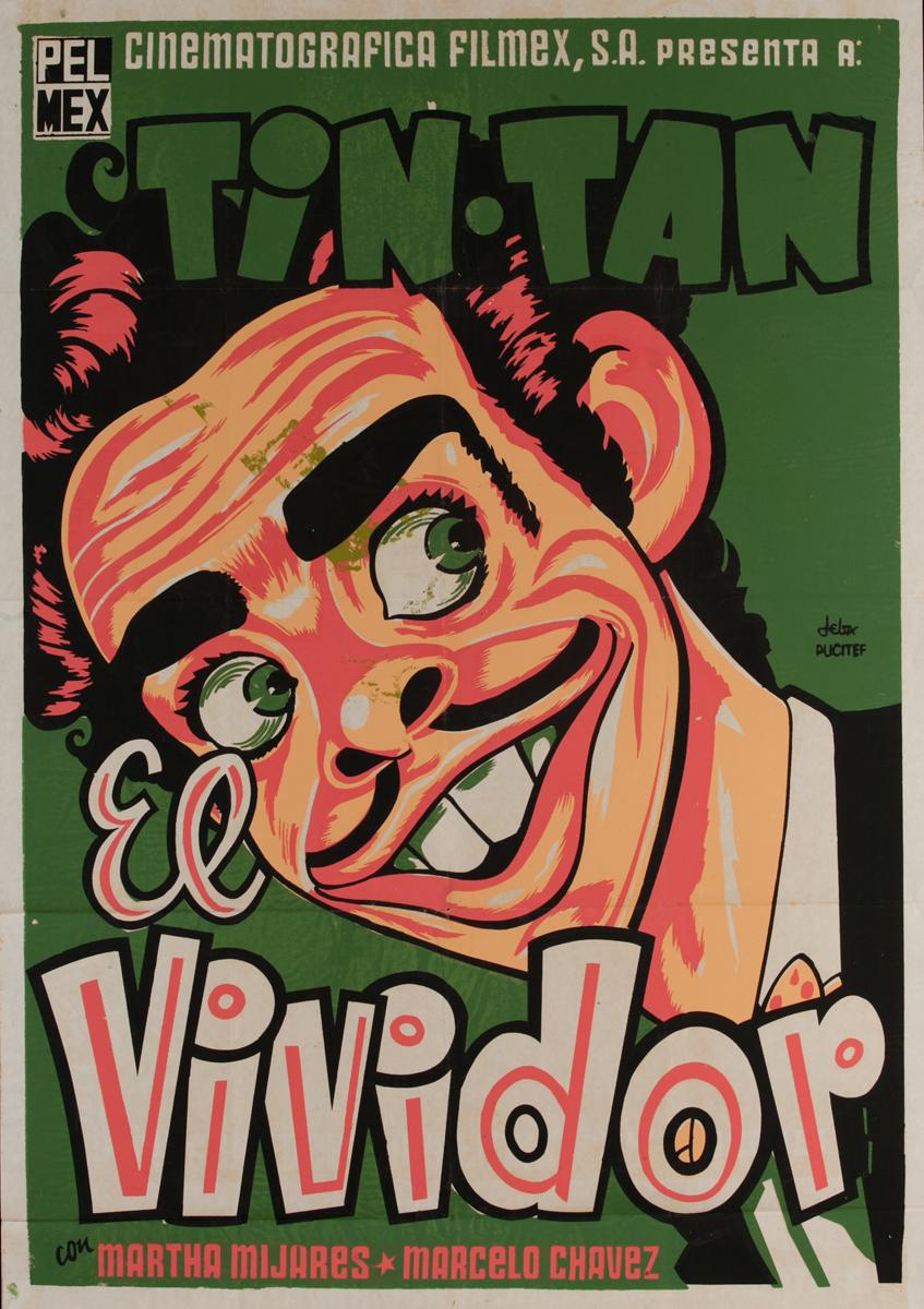 Tin Tan, El Vividor, Original Mexican Movie Poster