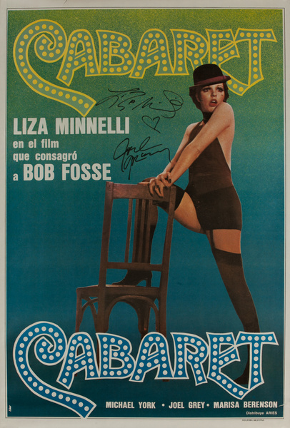 Cabaret, Original HAND SIGNED Argentinian Movie Poster