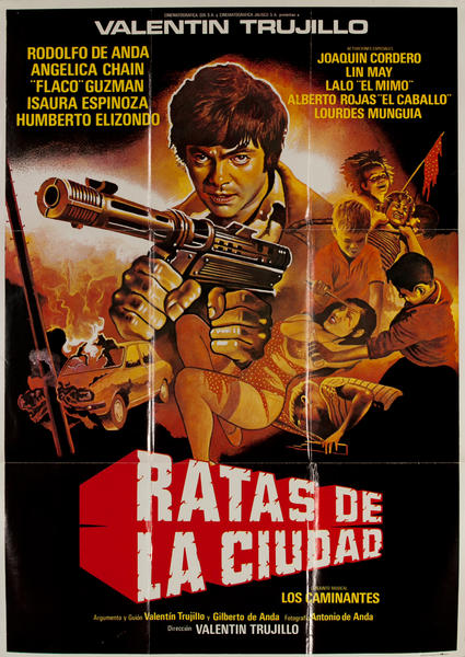 Ratas de la Ciudad, Original Mexican Movie Poster