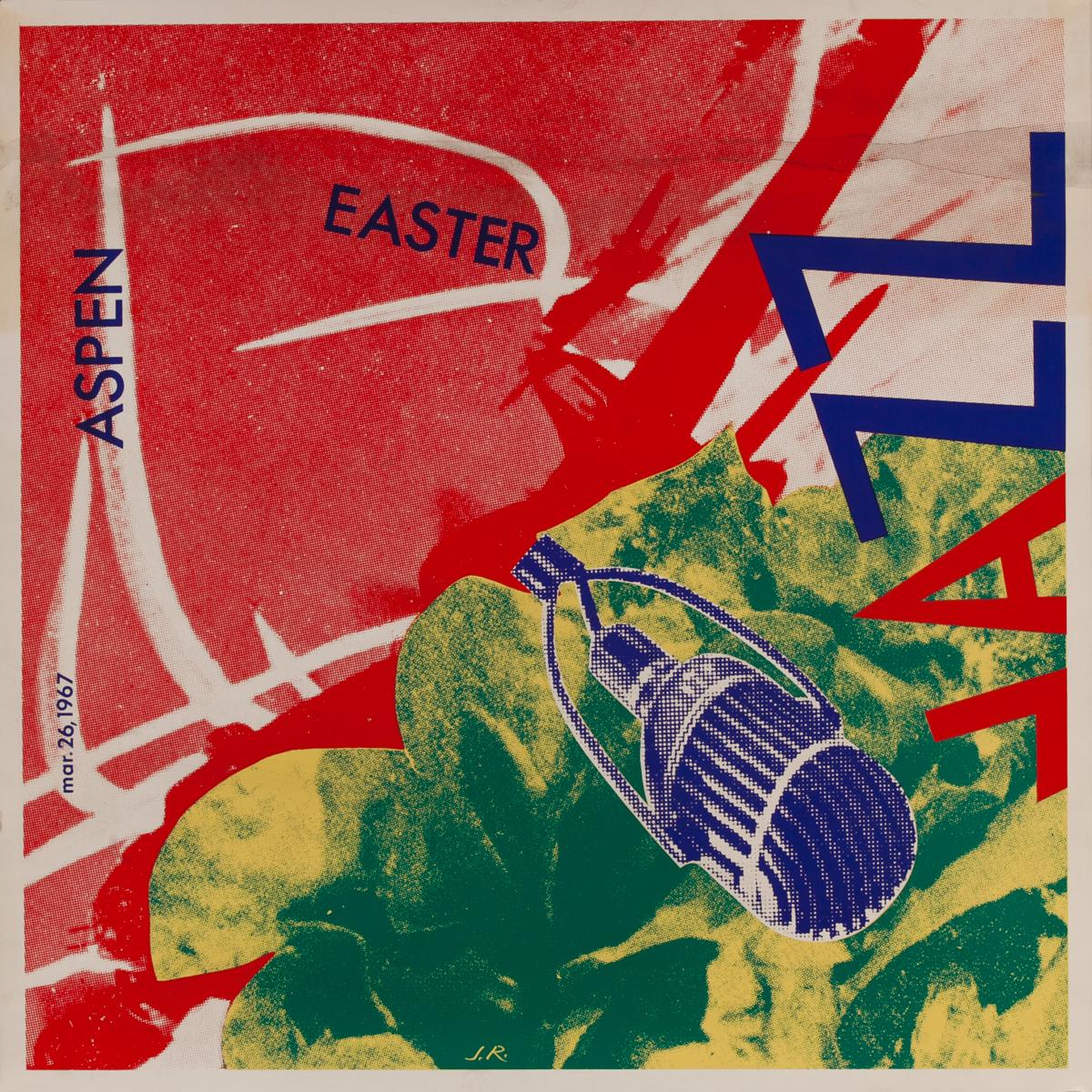 Aspen Easter Jazz Original Poster