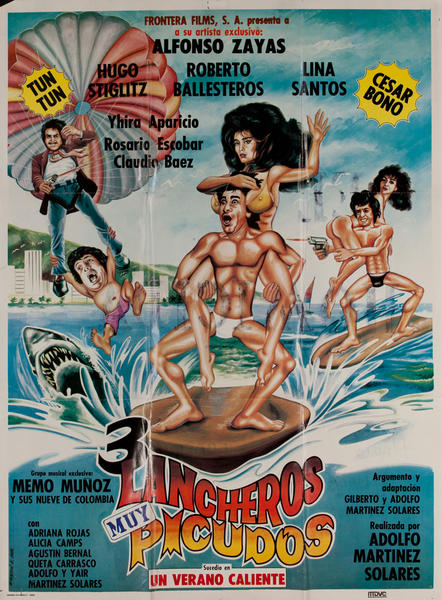 3 Lancheros Muy Picudos Mexican Movie Poster
