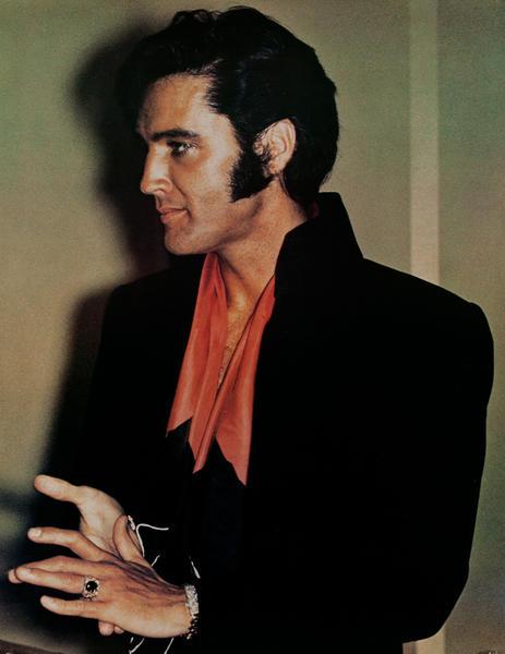 Young Evlis Presley Portrait