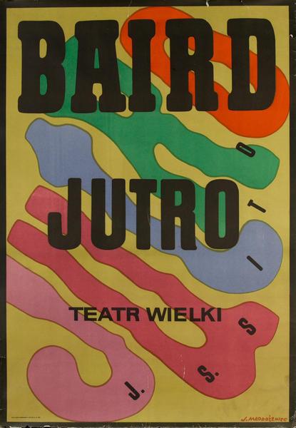 Teatr Jutro Baird Jutro, Polish Opera Poster