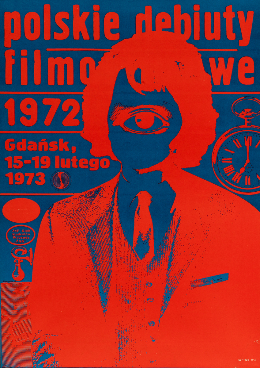 Polskie Debiuty Film  Polish Film Festival Poster Gdańsk