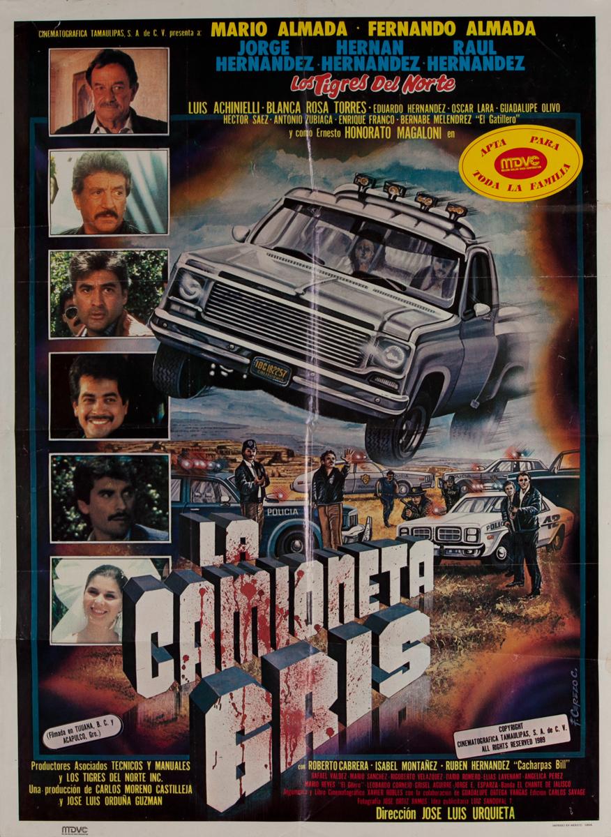 La Camioneta Gris Mexican Movie Poster