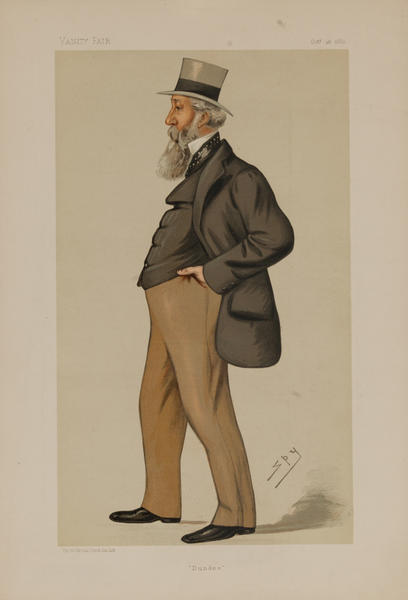 Dundee Vanity Fair Caricature Lithograph by SPY, Mr. G Armitstead MP