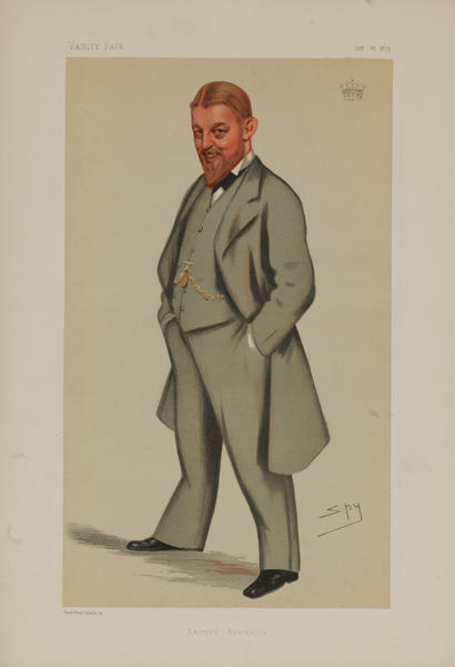 Eastern Roumelia, Vanity Fair Caricature Lithograph by Spy,  The Earl of Donoughmore KCMG