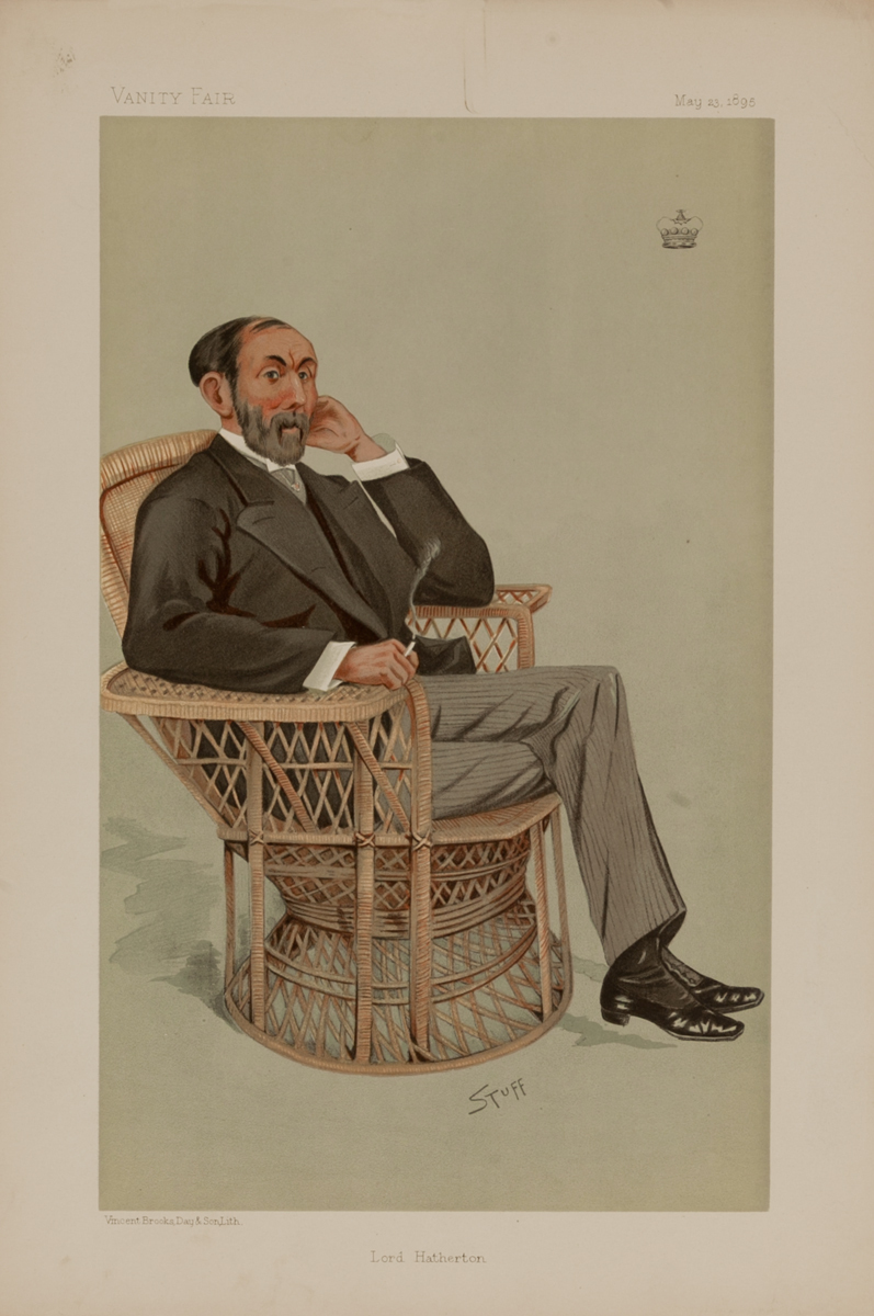 Lord Hatherton, Vanity Fair Caricature Lithograph