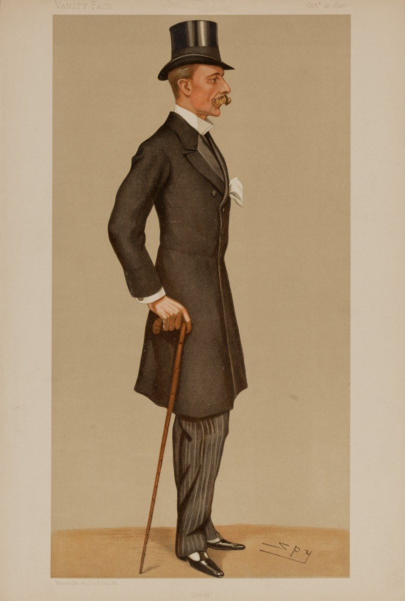Derek , Vanity Fair Caricature Lithograph, The Hon D. W. G. Keppel