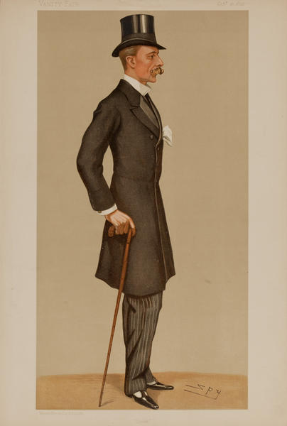 Derek , Vanity Fair Caricature Lithograph, The Hon D. W. G. Keppel