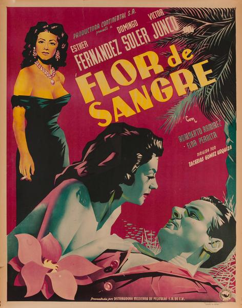 Flor de Sangre, Mexian Movie Poster