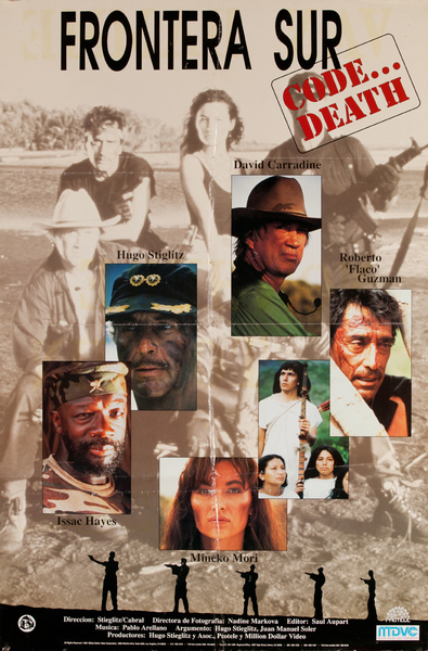 Code Death, Frontera Mexican Movie Poster
