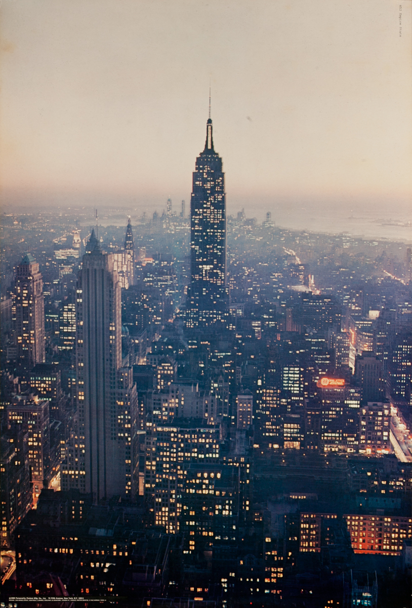 New York City Skyline, Empire State Building, Personality Poster
