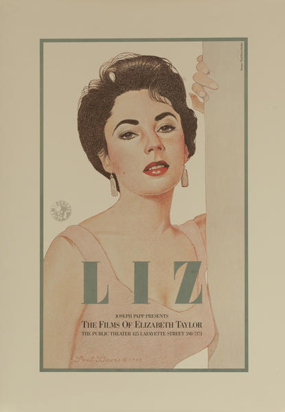 Joseph Papp Presents, The Films of Elizabeth Taylor