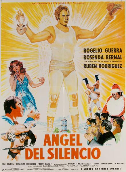 Ángel del Silencio, Mexican Movie Poster