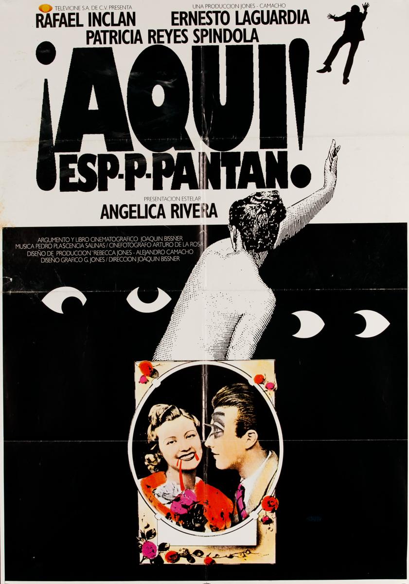 ¡Aquí! Espantan! Mexican Movie Poster