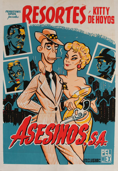 Asesinos, S.A. Mexican Movie Poster