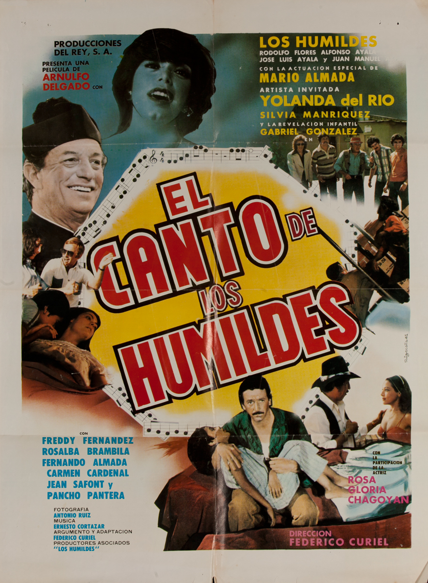 El Canto de Los Humildes, Mexican Movie Poster