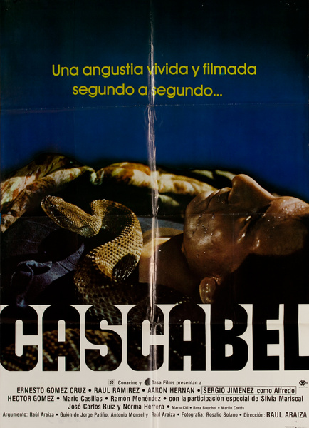 Cascabel, Mexican Movie Poster