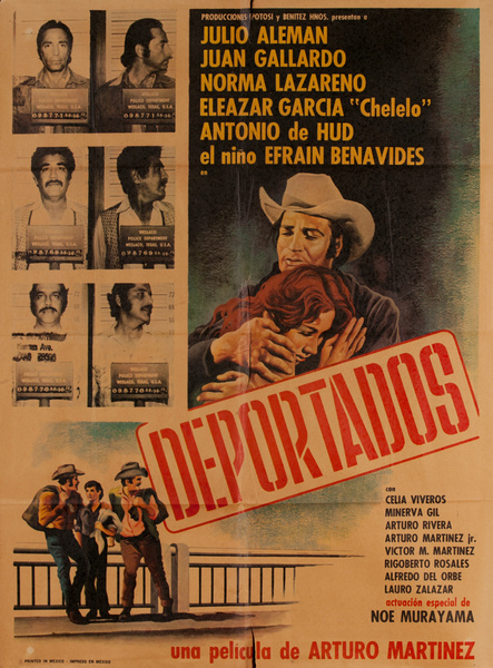 Deportados, Mexican Movie Poster