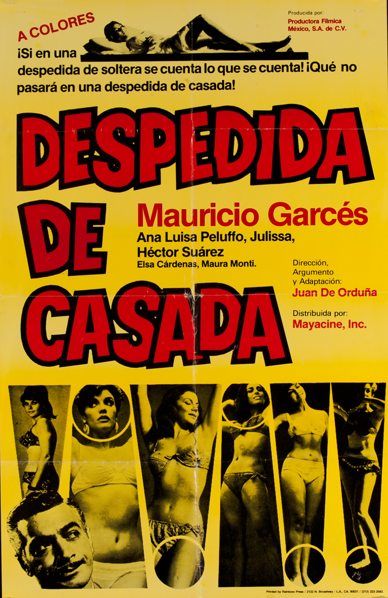 Desperdida de Casada, Mexican Movie Poster