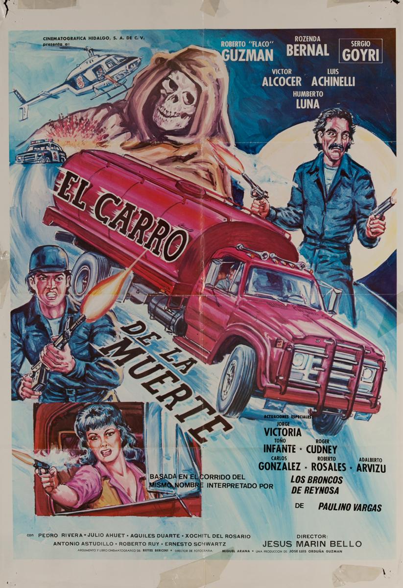 El Carro de le Muerte, Mexican Movie Poster