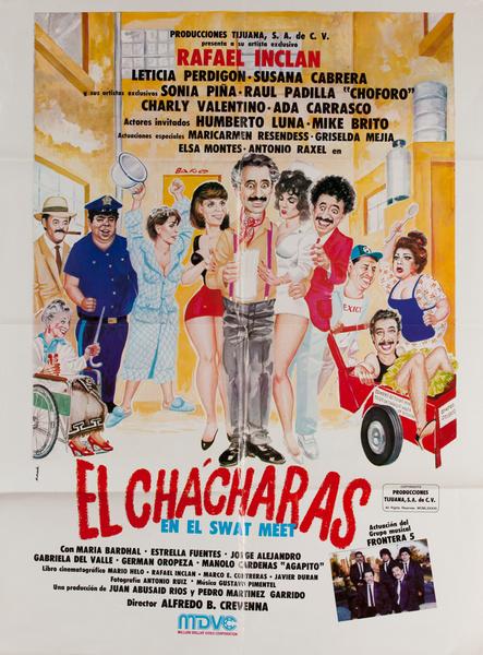 El Chácharas, Mexican Movie Poster