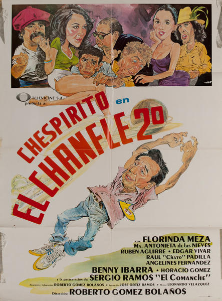 El Chanfle 2, Mexican Movie Poster