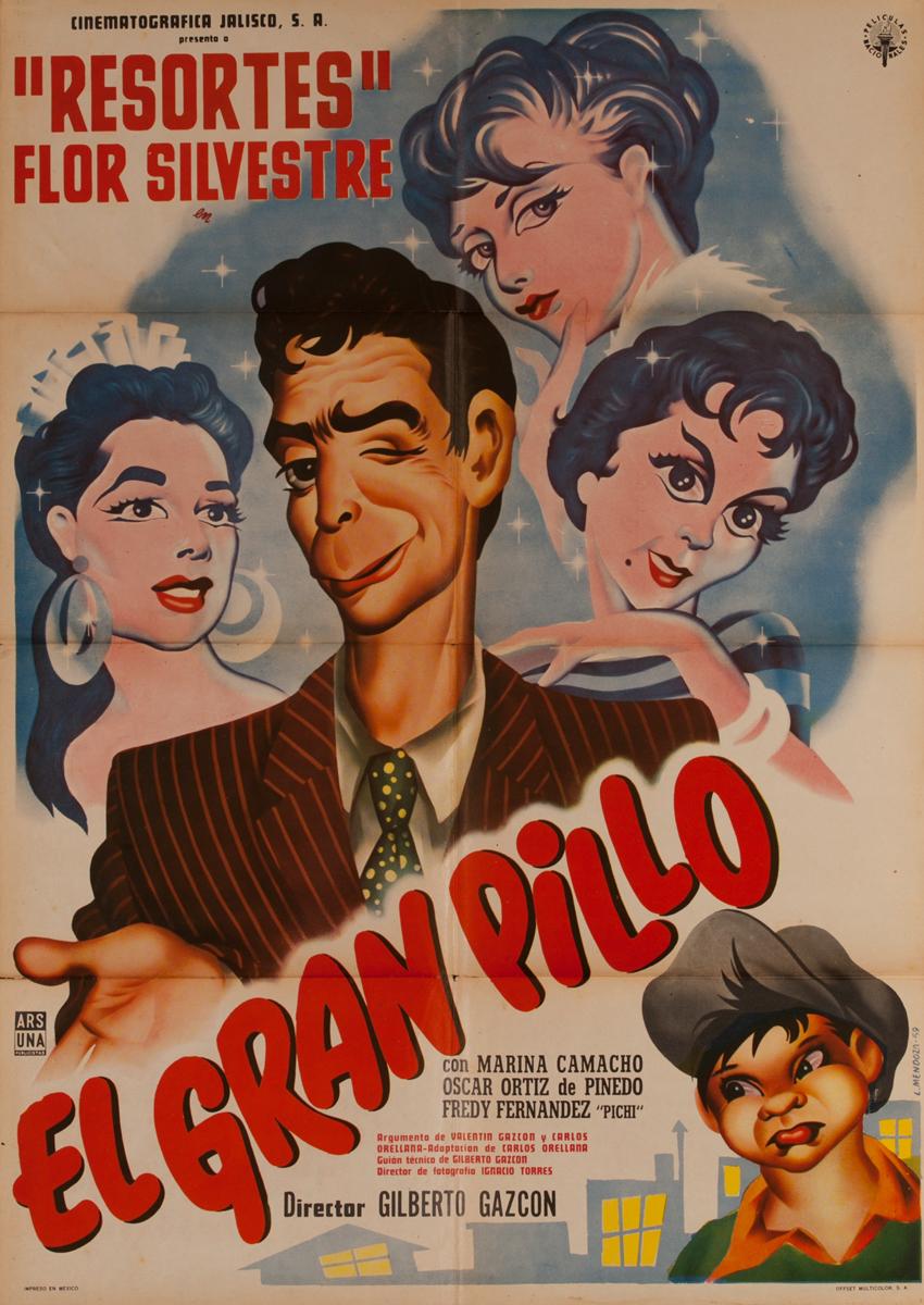 El Gran Pillo, Mexican Movie Poster