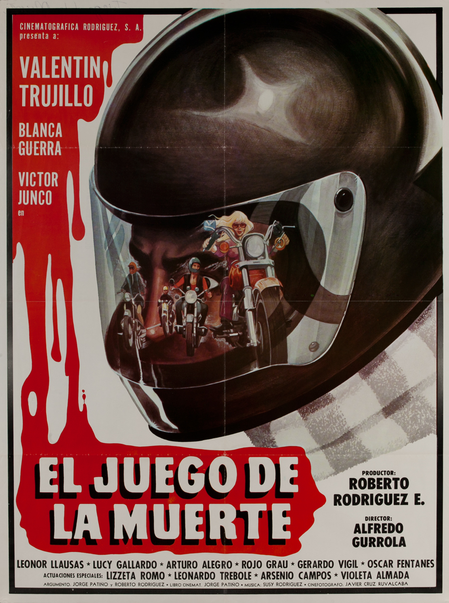 El Juego de la Muerte, Mexican Movie Poster, The Game of Death