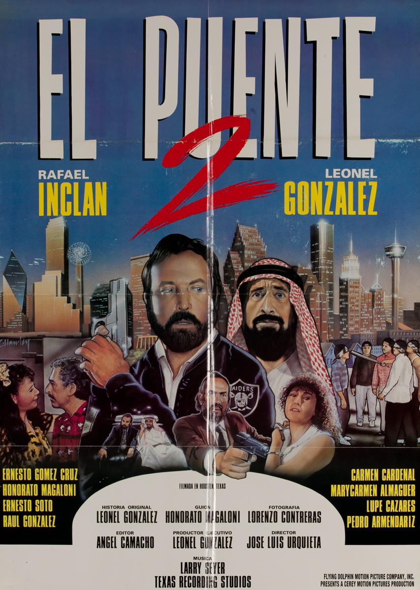 El Puente 2, Mexican Movie Poster