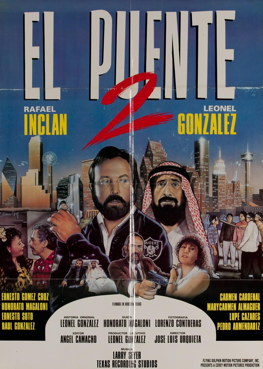 El Puente 2, Mexican Movie Poster