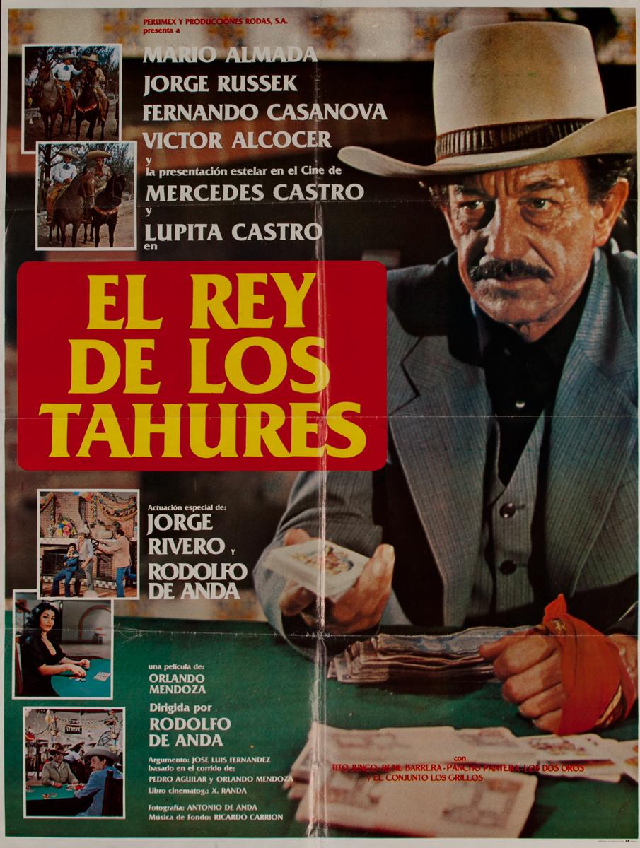 El rey de los Tahures, Mexican Movie Poster