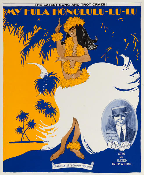 The Latest SOng and Trot Craze, My Hula Honolulu-lu-lu