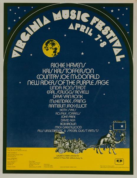 Virginia Music Festival Poster