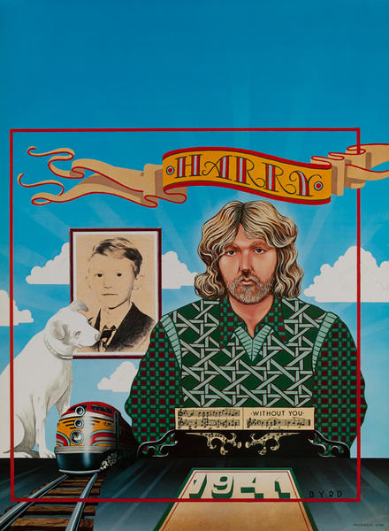 Harry Nilsson WIthout You Poster
