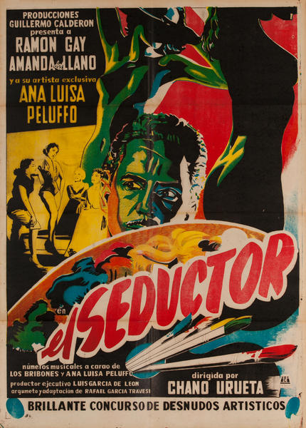 el Seductor, Mexican Movie Poster