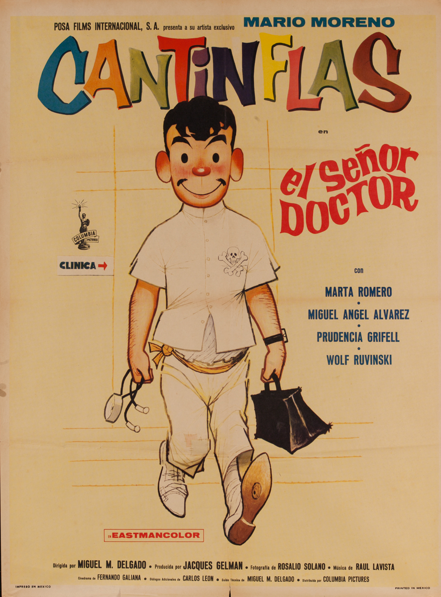 el Señor Doctor, Mexican Movie Poster