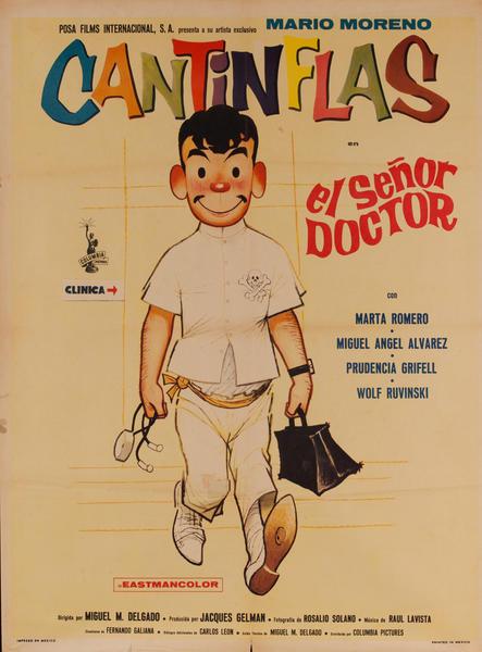 el Señor Doctor, Mexican Movie Poster