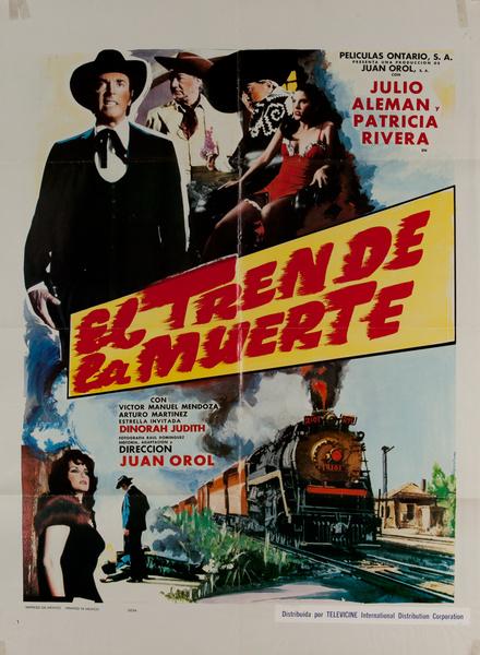 El Tren de la Muerte, Mexican Movie Poster